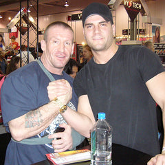 DJ Baum with Dorian Yates
