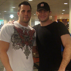 DJ Baum with Forrest Griffin