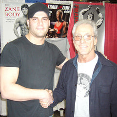DJ Baum with Frank Zane