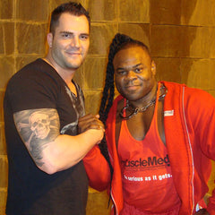 DJ Baum with Kai Greene