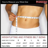 Grizzly Fitness Training Belt Sizing | SupplementLife.ca