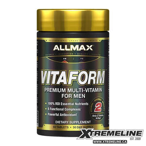 Allmax Nutrition VitaFrom Multi-Vitamin | SupplementLife.ca