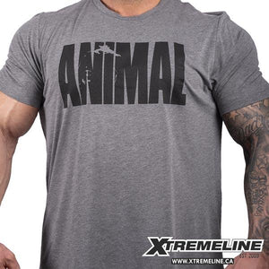 Animal Pak Iconic Heather Grey Tee Canada | xtremeline.ca