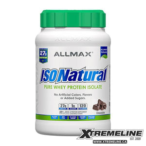 Allmax IsoNatural Isolate Protein Canada | xtremeline.ca