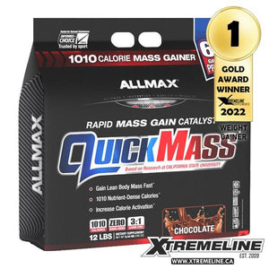 Allmax QuickMass Weight Gainer 12 Canada | xtremeline.ca