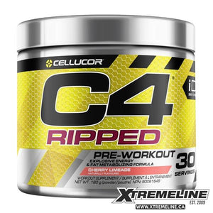 C4 Ripped Fat Burning Pre-Workout Canada | xtremeline.ca