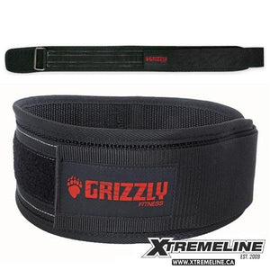 "Grizzly Fitness Bear Hugger 4"" Nylon Belt 