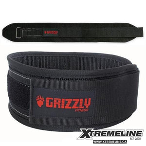 "Grizzly Fitness Bear Hugger 6"" Nylon Belt 