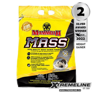 Mammoth Mass 15lbs Weight Gainer Canada | xtremeline.ca