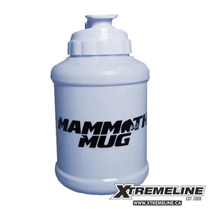 Mammoth Mug 2.5L Solid White | SupplementLife.ca
