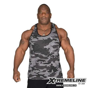 GASP Vintage T-Back Tank Camo | SupplementLife Canada