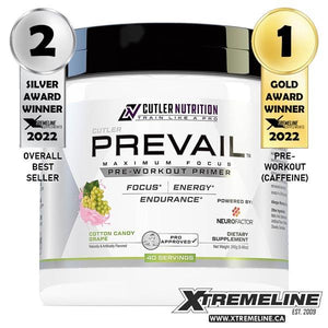 Jay Cutler Nutrition Prevail Pre-Workout Canada
