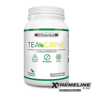 SD Pharmaceuticals TeaCrine, 60 Capsules