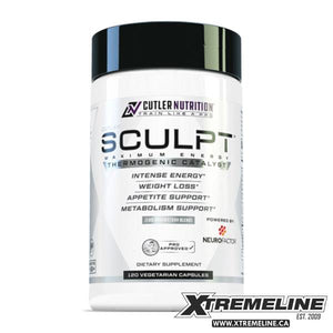 Cutler Nutrition Sculpt, 120 V-Caps