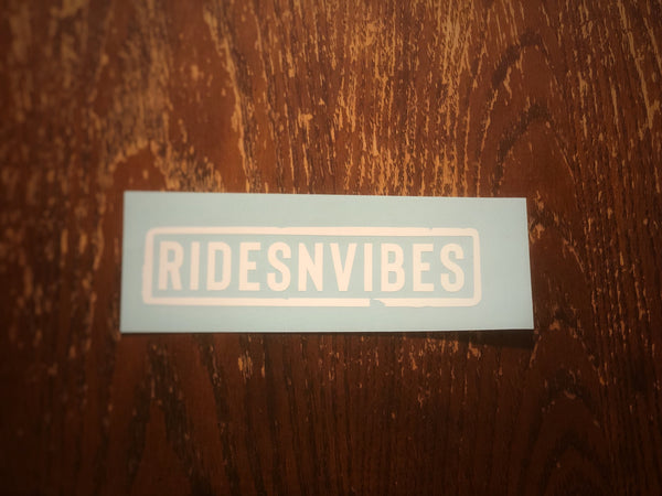 ridesnvibes Boxed Vinyl Decal
