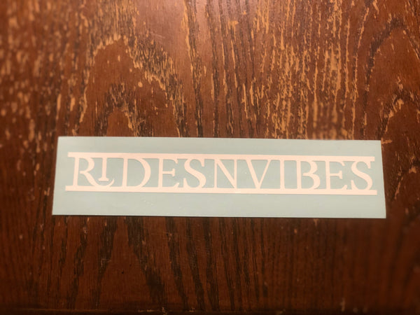 ridesnvibes Vinyl Decal