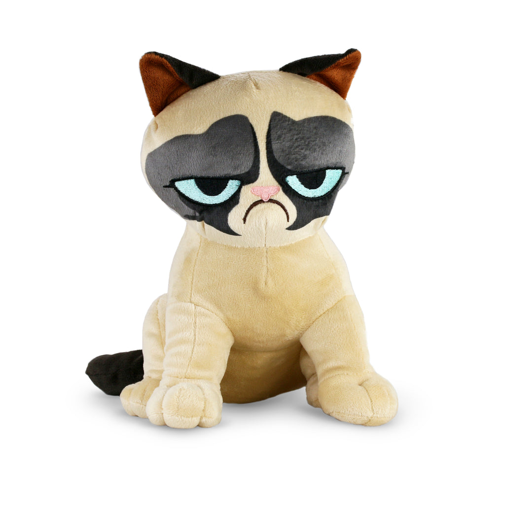 Sitting Up Grumpy Cat Plush Toy
