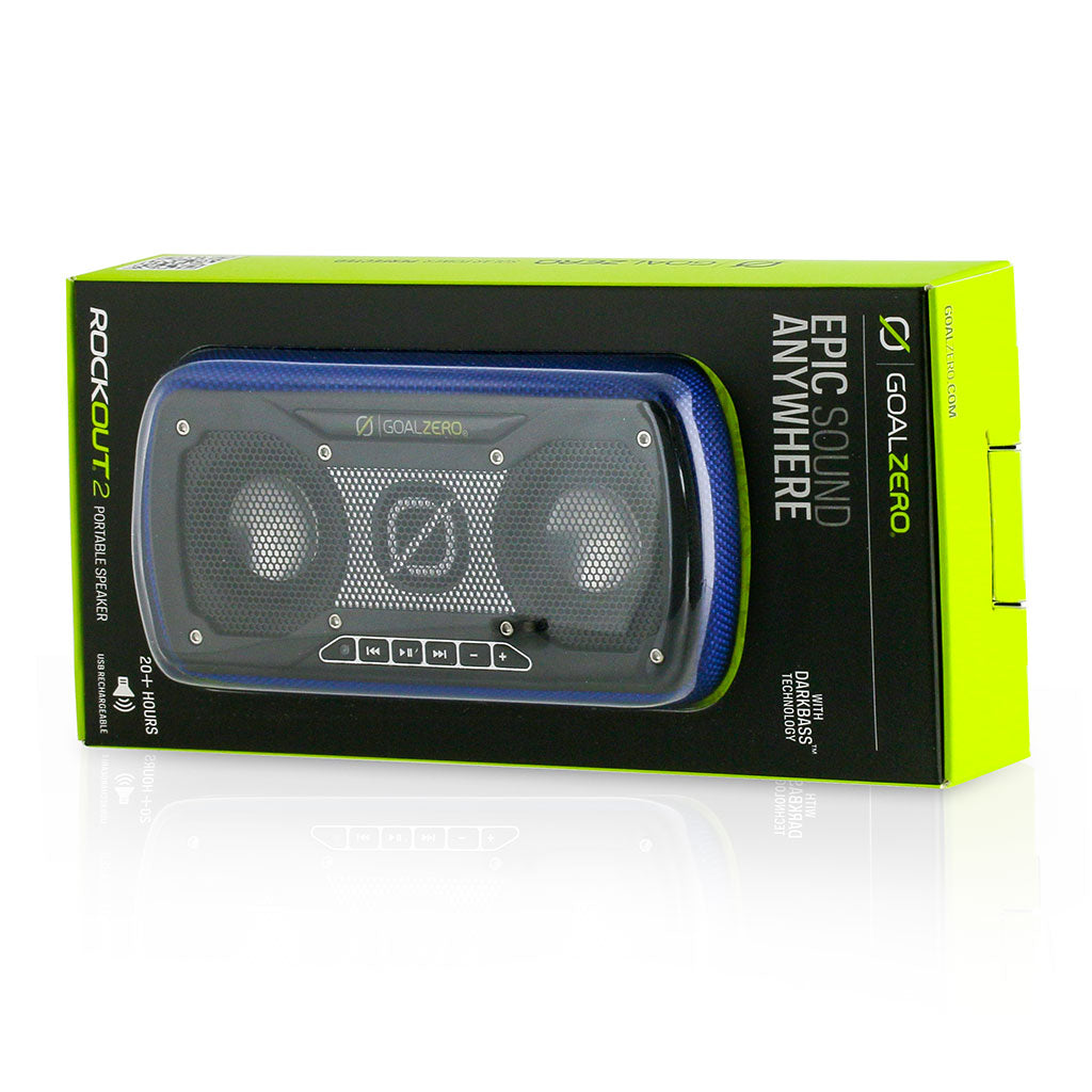Goal Zero Blue Rock Out 2 Portable Speaker