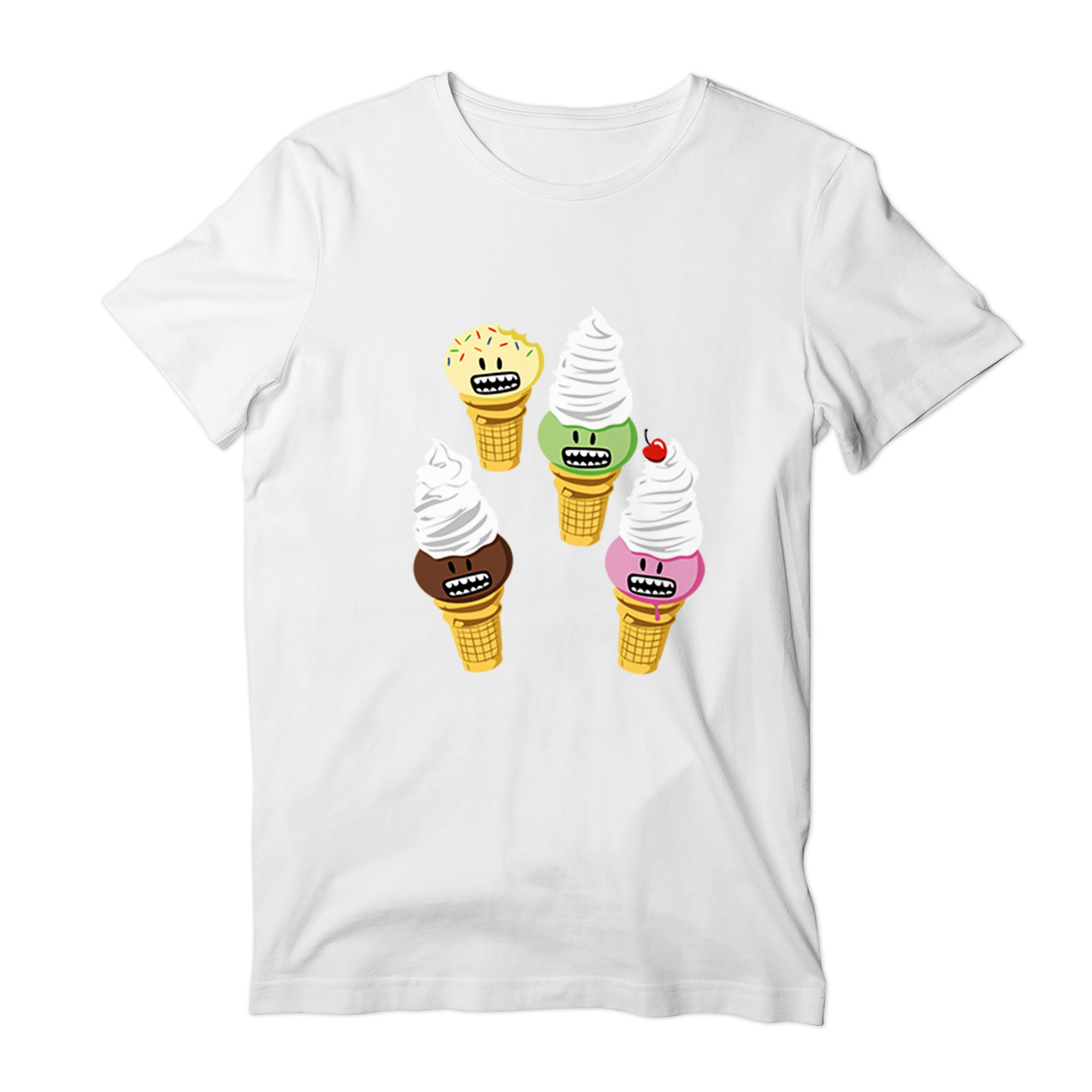 Ice Cream Characters Kids T