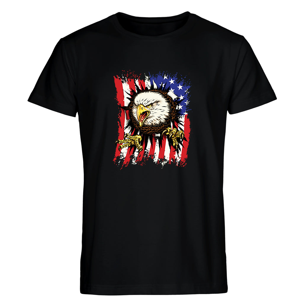 Screaming American Eagle Men's T
