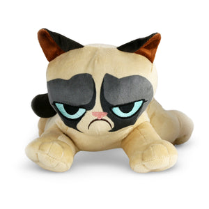 Laying Down Grumpy Cat Plush Toy