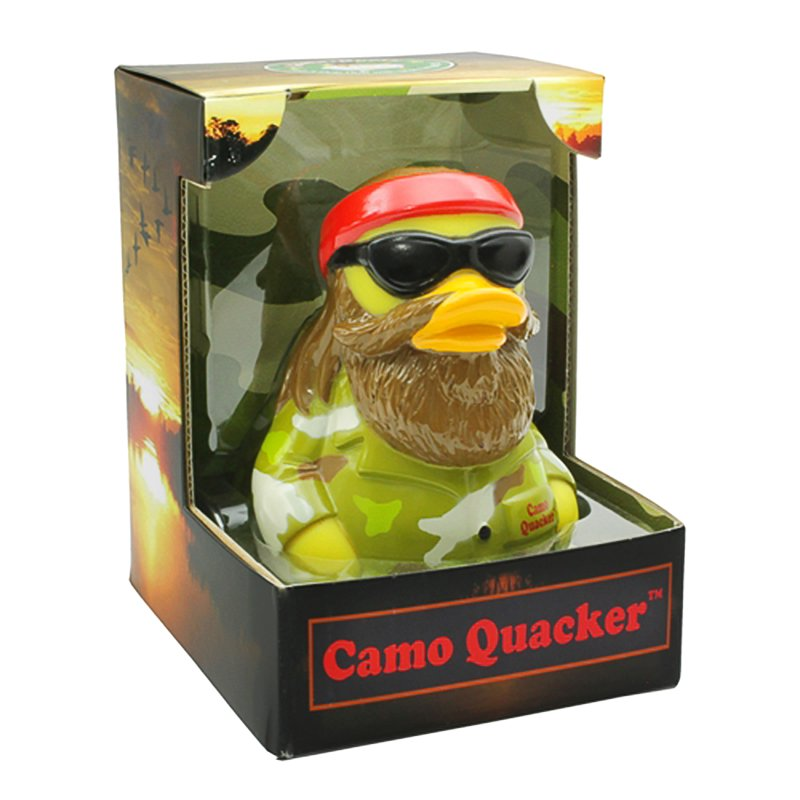 Camo Quacker Rubber Duck - mmzone