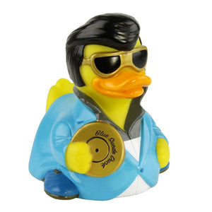 Blue Suede Rock and Roll Rubber Duck - mmzone