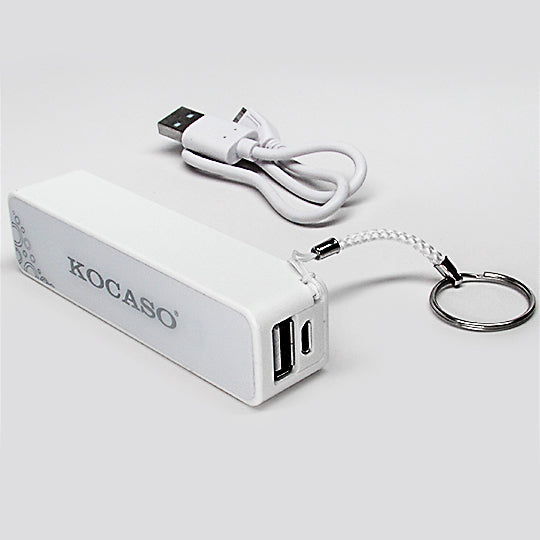 Keychain power bank white