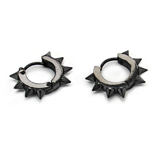 SSE Economy Line Earrings STE-Black