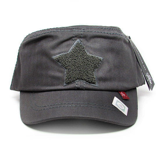 Star patch cadet hat