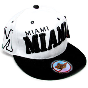 Miami city miami shadow rise baseball hat