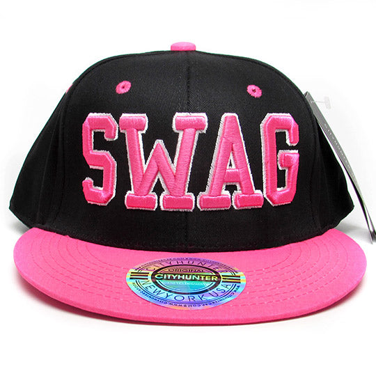 Swag neon baseball hat