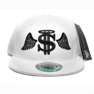 Money angel baseball hat