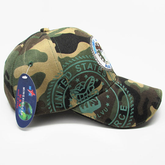 Airforce camo baseball hat - mmzone