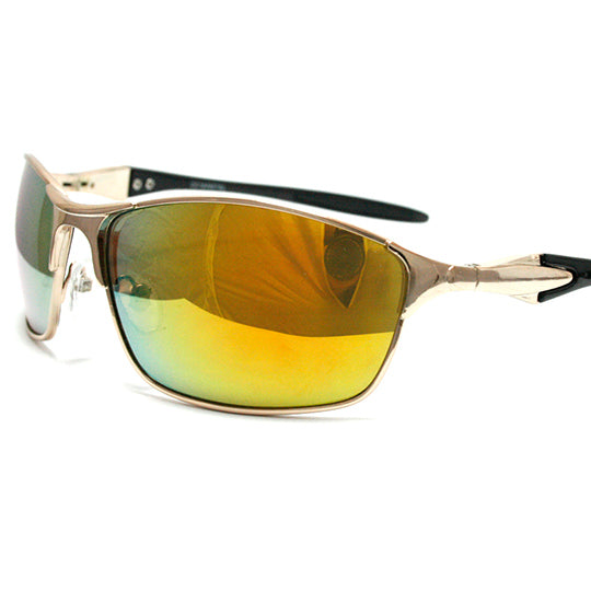 Coldwater classic sports sunglasses with spring hinge