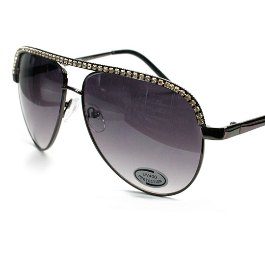 Kature ladies rhinestone sunglasses