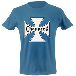 Iron cross chest T-shirt