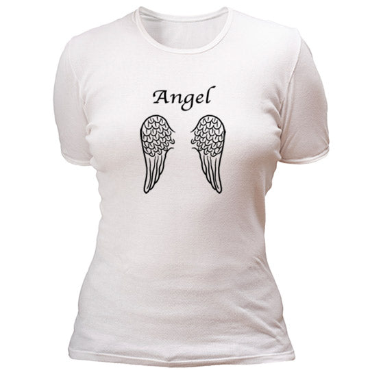 Angel with wings T-shirt - mmzone