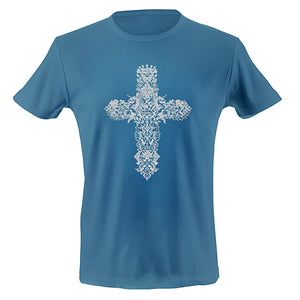 Gothic cross T-shirt