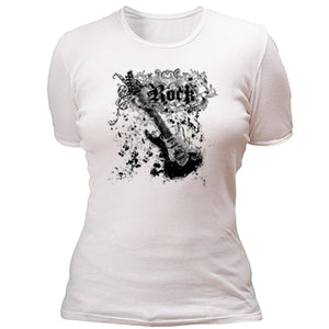 Rock with guitar T-shirt