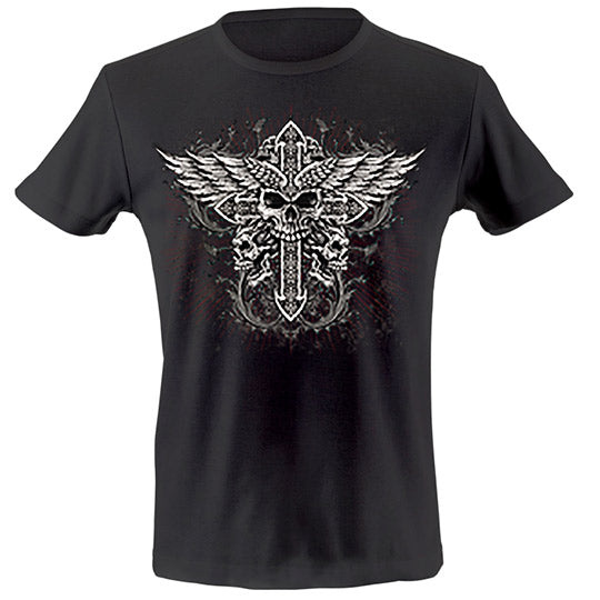 Cross wing T-shirt