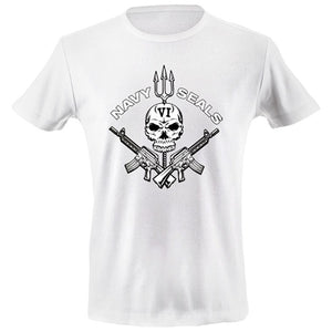 Navy seals VI skull T-shirt