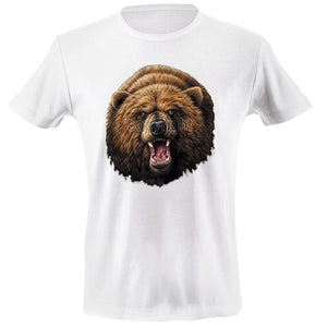 Bear head T-shirt - mmzone