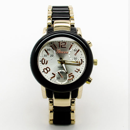 Ladies rubberized band watch