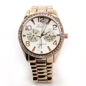 Womens MK Watch Metal