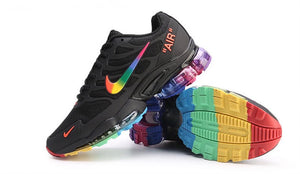 Rainbow Air Max Sneakers