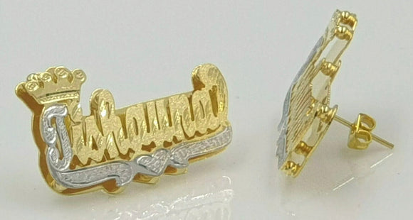 Double name plate stud