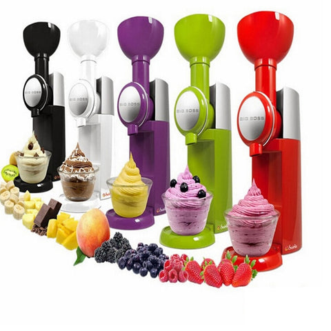 Image of Fruit Ice Cream Machine Maker