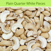 Plain Quarter White Pieces : Dry Fruits & Nuts - Mangalore Spice