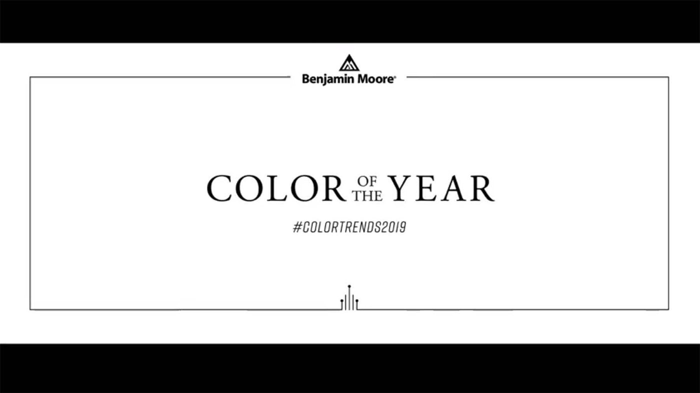 Benjamin Moore Colors Trends 2019 | Flagship Paints